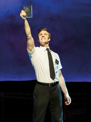 "Billy Harrigan Tighe stars as Elder Price in the first national tour of ""The Book of Mormon."""