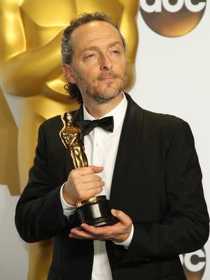Emmanuel Lubezki picked up his third cinematography Oscar for 'The Revenant.'