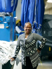 Plant manager Claudia Oates has worked for five years