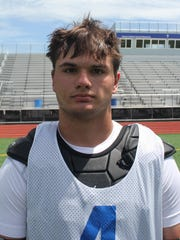 Senior attack Rocco Mularoni scored 5 of Catholic Central's 7 goals in the 2015 Division 1 final game.