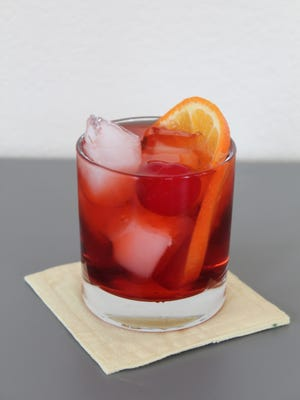 This simple version of an old-fashioned cocktail uses one of George Washington's favorite drinks, cherry bounce.