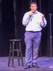Wilmington comedian Brandon Jackson is one of seven stand-ups competing at the baby grand Friday night.