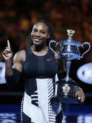 Serena Williams responded Monday via Twitter to comments John McEnroe made during a weekend interview with NPR.