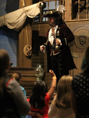 Eric Swilling uses his pirate captain persona to reach children at Judah Church.