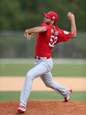 St. Louis' first-round draft pick in 2012, Michael Wacha added another solid season to his Major League resume. It marked the fourth straight season he threw at least 100 innings.