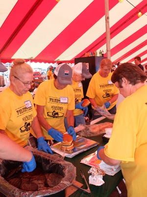 FILE PHOTO - An army of volunteers will be on hand to man the food tents, ice cream and beverage stands at Farm Technology Days.