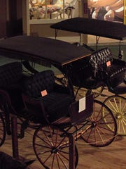 Carriages and wagons were essential for transportation in the Southwest. The Hubbard Museum has one of the largest collections on exhibit.