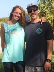 Layna Moehl and boyfriend Carl Soranno met when she was hosting local summer camps at the Jupiter Inlet Lighthouse Outstanding Natural Area.