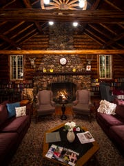 A warm, western atmosphere greets diners as they pass through the lodge to the restaurant.