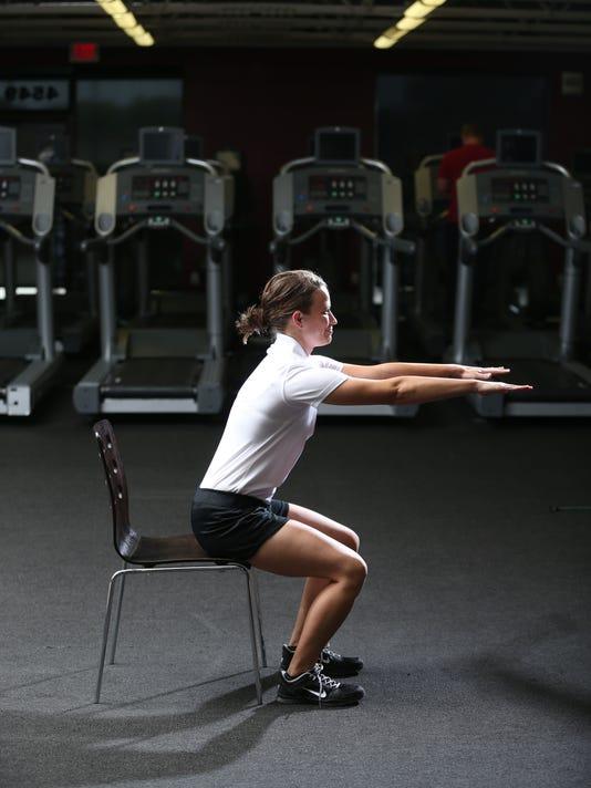 SAL squats chair sit beginner
