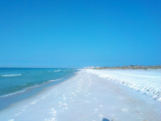 It's easy to find quiet spots at beautiful Topsail