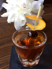 """Hemingway's Bar and Hideaway: """"Steve McQueen"""" cocktail, a spice-rich booze-heavy antihero of your dad's Manhattan."""