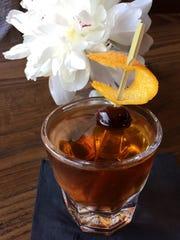 "Hemingway's Bar and Hideaway: ""Steve McQueen"" cocktail,"
