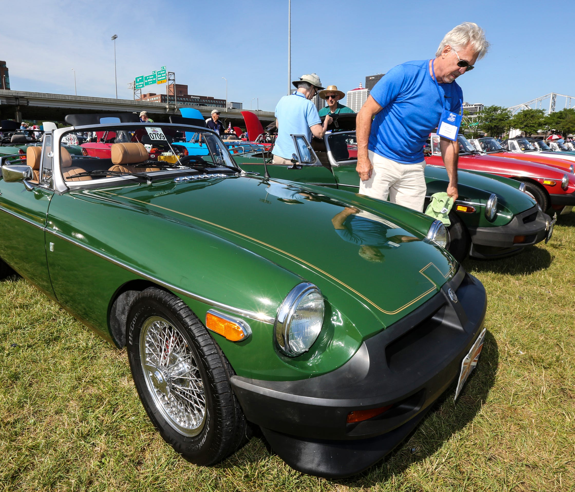 Hundreds Of MG Owners Gather To Show Their Cars