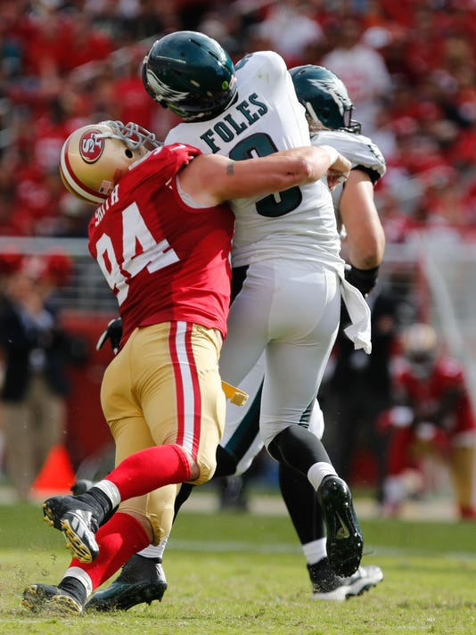 a29ee7cfcf8 49ers DL Justin Smith retires after 14 seasons