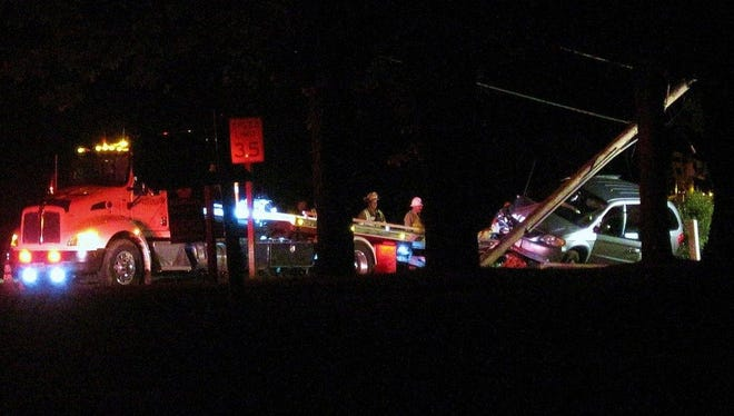 A 17-year-old Plover boy fell asleep while driving and crashed into a utility pole Monday night. The boy wasn't hurt, but the crash knocked out power for about 265 Wisconsin Public Service customers.