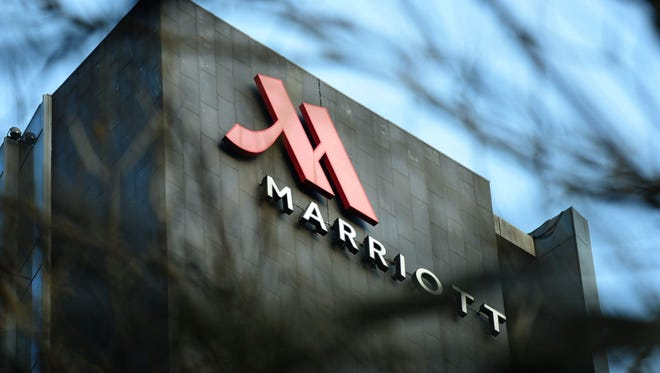 A Marriott hotel in Hangzhou, China.