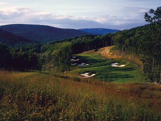 The elevation changes make Patriot Hills Golf Course a fun place to play.