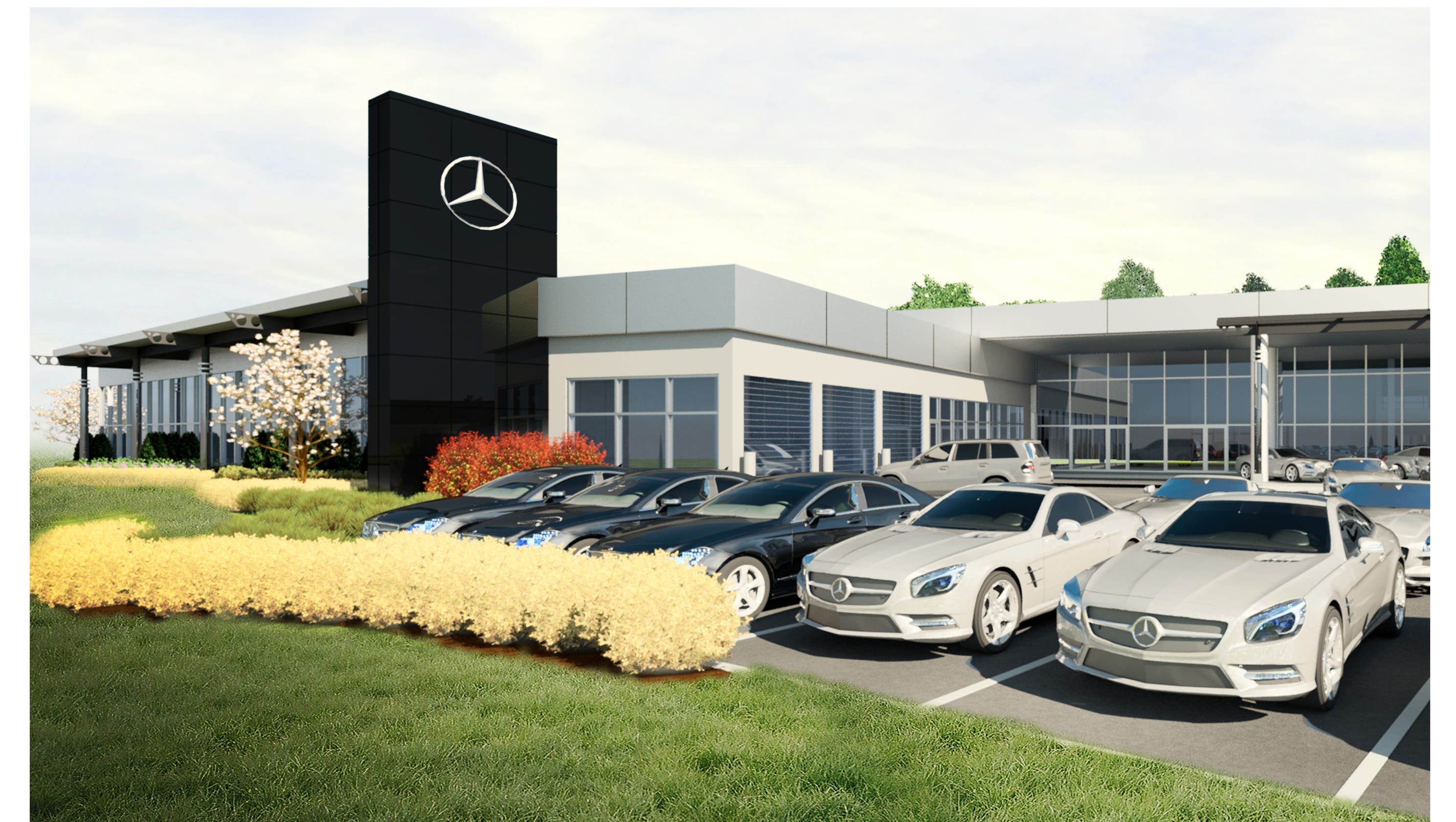 mercedes benz presents new plans for kenwood dealership