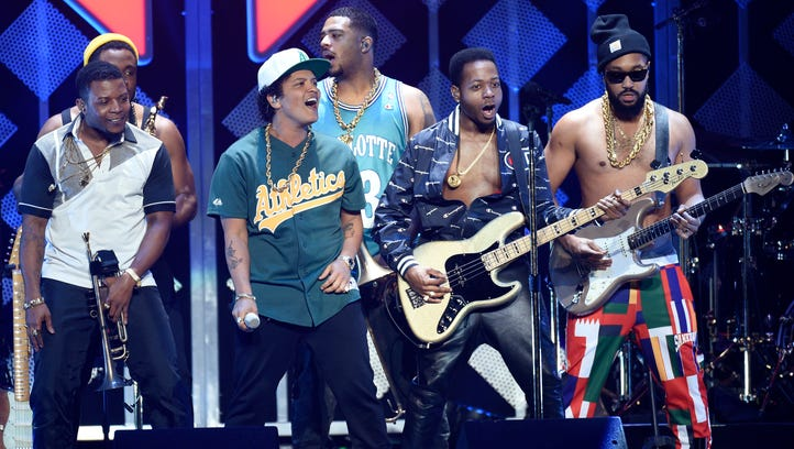 Bruno Mars' band, The Hooligans, will close this year's Jazz Festival in Rochester.