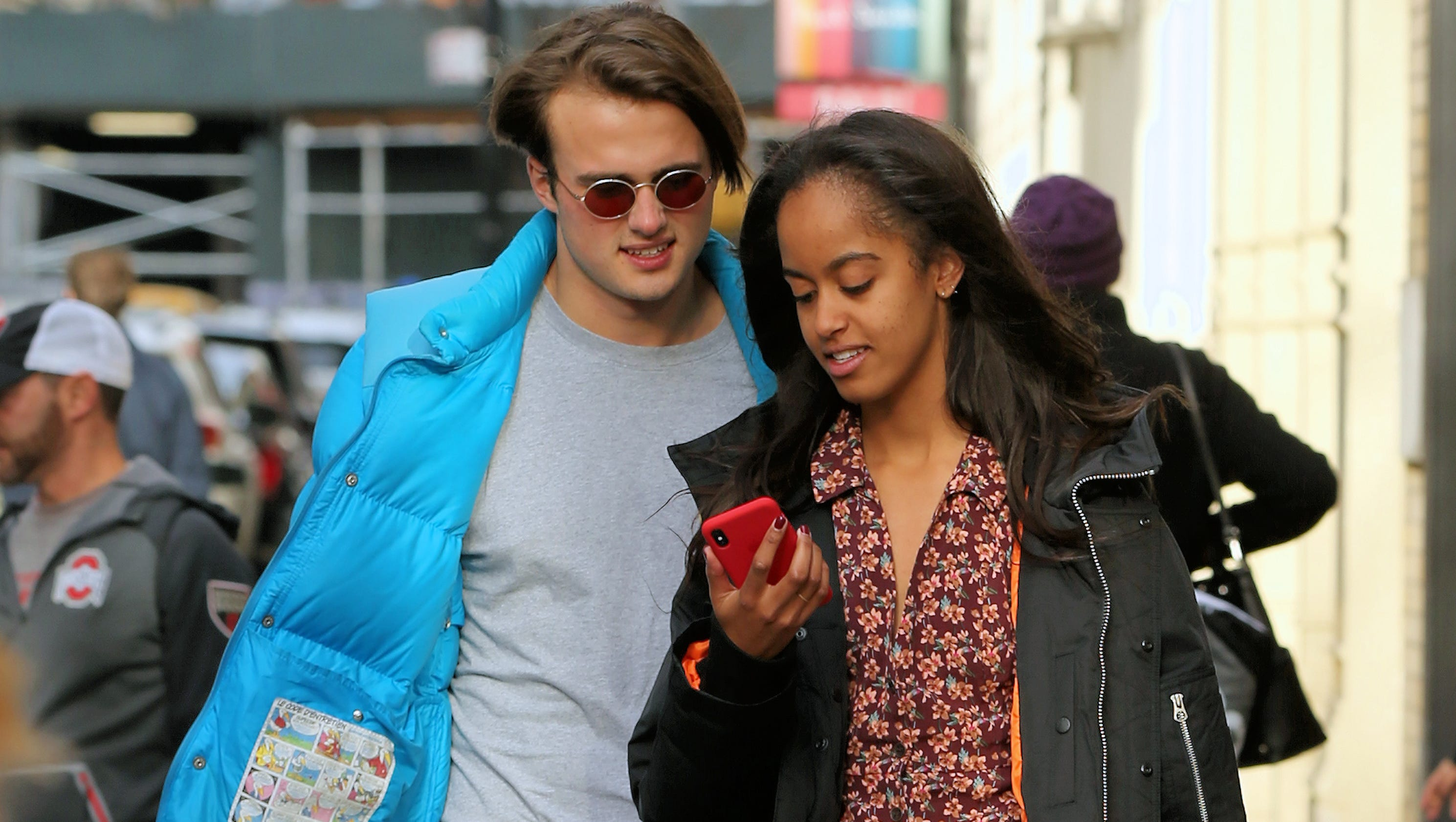 Malia Obama steps out with Rory Farquharson, her alleged ...