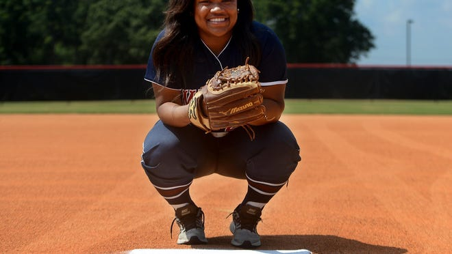 Madison's Alexus Jimmerson is the 2016 All-West Tennessee Softball Player of the Year.