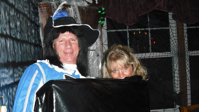 Richard Durland and his wife, Sue, held some epic Halloween bashes at their home in Paxton.