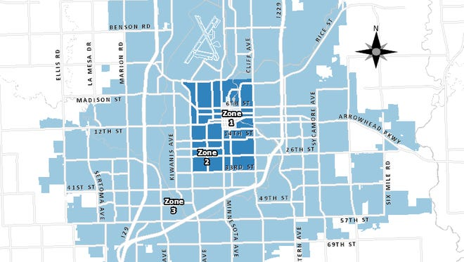 Snow Alert map