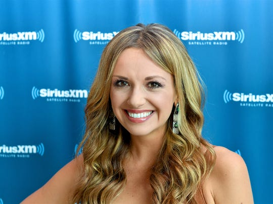 """Recording Artist Carly Pearce arrives at the SiriusXM Nashville Studios to speak with SiriusXM Host Storme Warren and announce her debut album """"Every Little Thing"""" at SiriusXM Studios on August 22, 2017 in Nashville, Tennessee."""