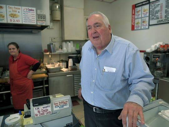 Jim Brackett, a part owner of Kay's Ice Cream, said