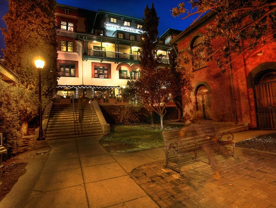 The historic Copper Queen Hotel offers 48 rooms that
