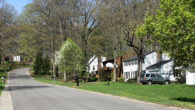 Homes in the Blackwatch neighborhood in Perinton are close to both retail centers and green spaces.