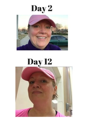After 3 weeks of Paul Lacoste Fit4Change Challenge, Dawn Dugle is already seeing the changes. (And so are her co-workers)
