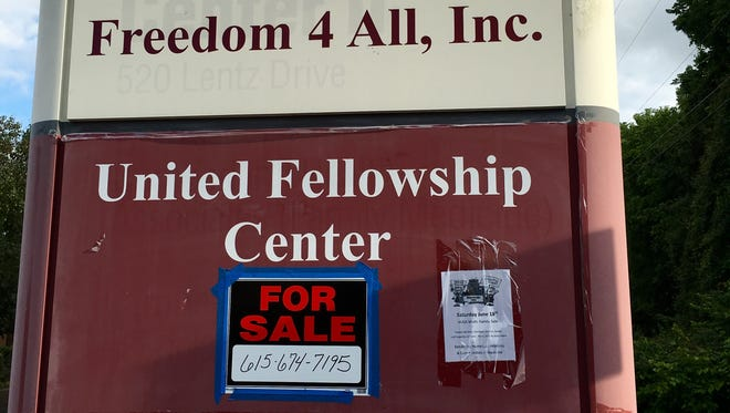 The United Fellowship Center in Madison, originally envisioned as a swingers club, is for sale for more than $1 million.