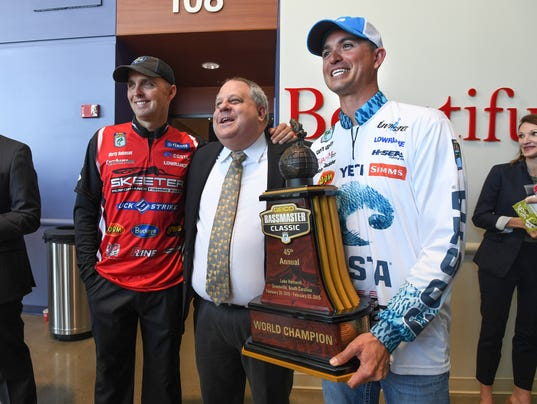 Bassmater Classic press conference