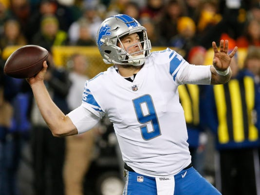 Detroit Lions at Green Bay Packers