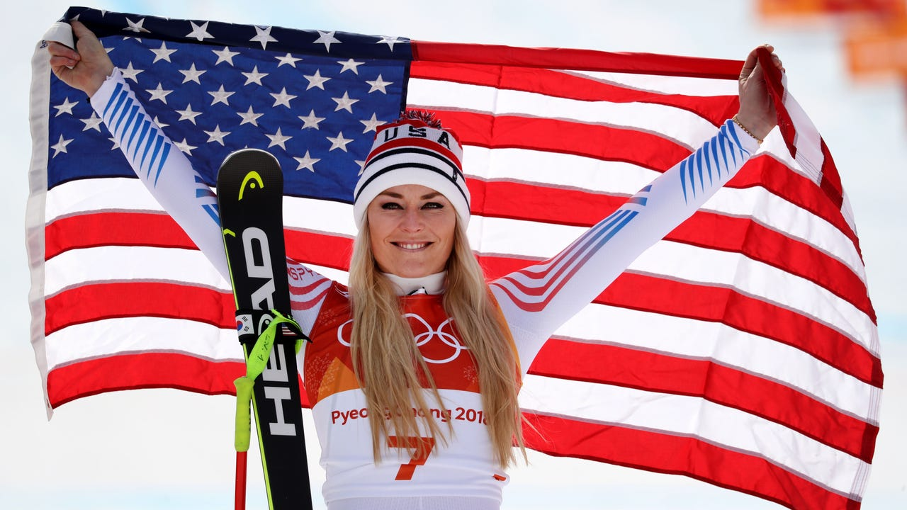 Lindsey Vonn humbled to inspire next generation of female skiers