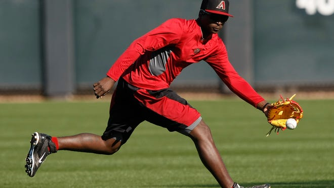 Diamondbacks shortstop Didi Gregorius was part of a three-team trade involving the Reds, the Diamondbacks and the Indians in December of 2012.
