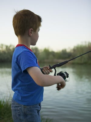 Millville Recreation Department held a fishing tournament at Corson Park for children ages 15 and younger on Aug. 28.