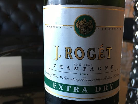 J. Roget Extra Dry retails for around $5 online.