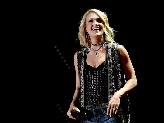 Singer Carrie Underwood performs onstage during 2016