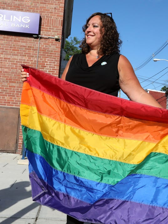 Rockland Pride Center flies LGBTQ flag in Haverstraw