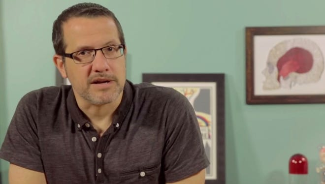 Dr. Aaron Carroll hosts YouTube series Healthcare Triage.