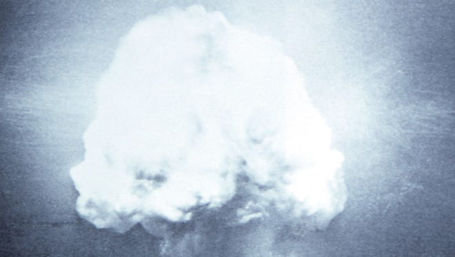 The world's first atomic bomb was detonated on July 16, 1945, at Trinity Site, on the north end of what is now White Sands Missile Range. The New Mexico Museum of Space History is hosting a motorcoach tour to the site on Saturday, Oct. 7.