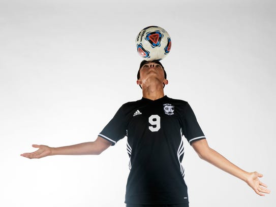 Leo Perez, Mariner High School, soccer all-area