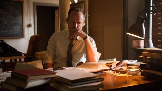 "John Benjamin Hickey plays Frank Winter in  WGN America's ""Manhattan."""