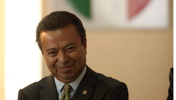 César Camacho Quiroz, presidente del PRI.