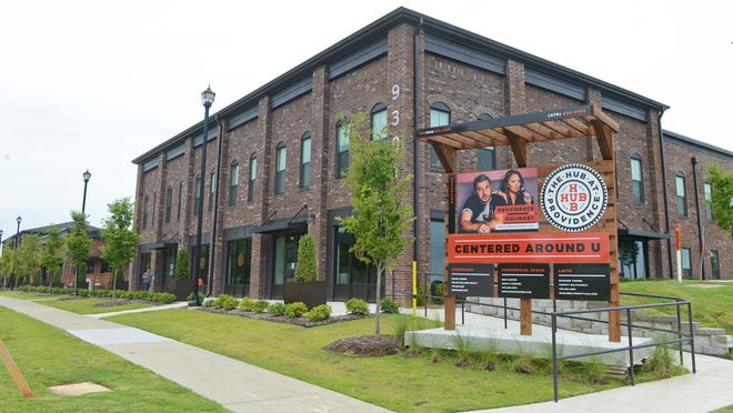 The HUB at Providence, 9101 R.A. Young Jr. Drive, Fort Smith includes townhomes, apartments, commercial and restaurant space.