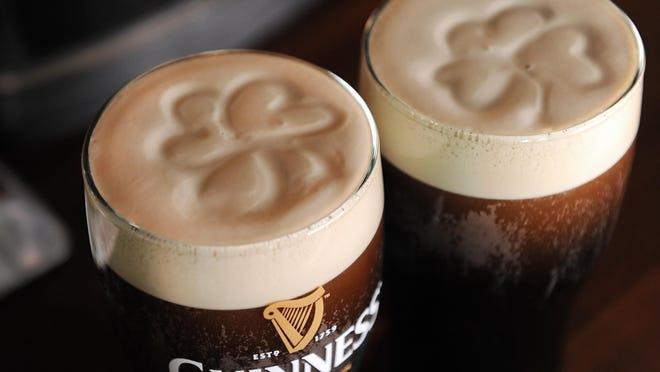 Guinness at Molly Malone's Irish Pub in Covington