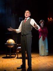 Tony winner John Glover as President Woodrow Wilson.